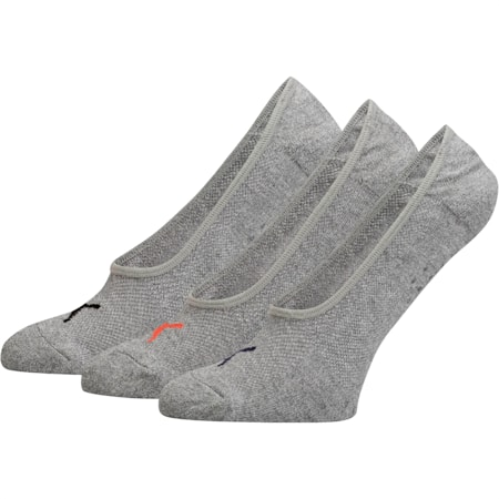 Women's Select Terry Liner Socks [3 Pack], GREY / PINK, small